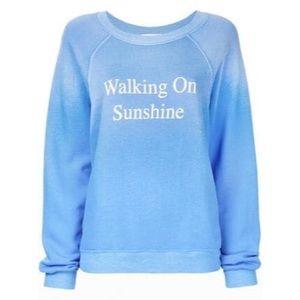 Wildfox Walking on Sunshine sweatshirt